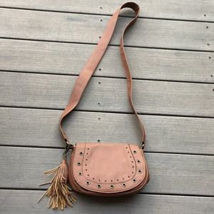 Madden girl cognac purse.